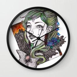 Sailor Pluto - Sailor Moon Fanart Wall Clock