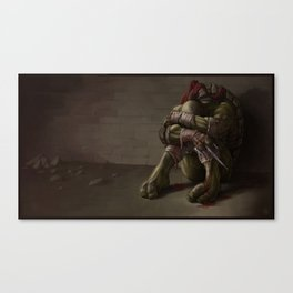 RAPHAEL goodbye, my brothers... Canvas Print