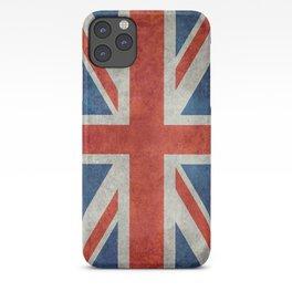 "UK British Union Jack flag ""Bright"" retro iPhone Case"