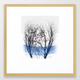 Nature Couple Framed Art Print