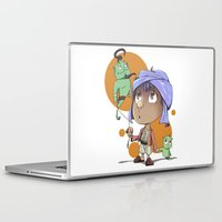 aladdin Laptop & iPad Skins featuring Cute Aladdin by EY Cartoons