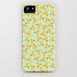 Yellow Gemstone iPhone Case