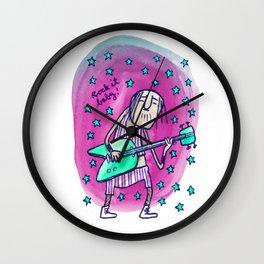 Rock it baby! Wall Clock