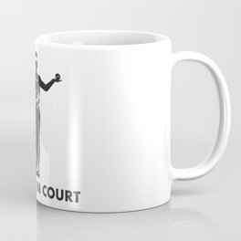 See You In Court Tennis Pun - Funny Tennis Quote Gift Coffee Mug