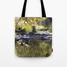 Creekside View Tote Bag