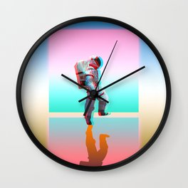 Retro Space Man Wall Clock