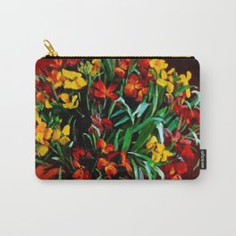 """""""Wallflowers"""" by Margaret Olley Carry-All Pouch"""