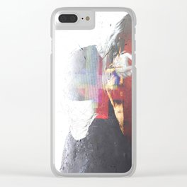 Androfemme: Smitten Drown III Clear iPhone Case