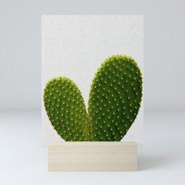 Heart Cactus Mini Art Print