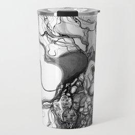 Ink lines Travel Mug