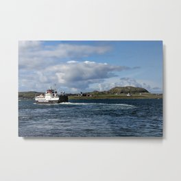Ferry to Iona Metal Print
