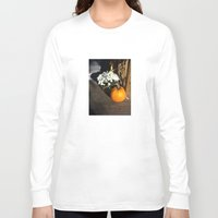 pumpkin Long Sleeve T-shirts featuring pumpkin by Voss fineart