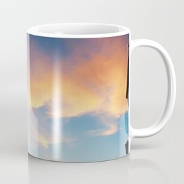 Parisian Sunset with Church Coffee Mug