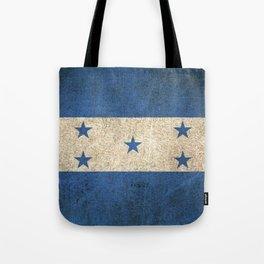 Old and Worn Distressed Vintage Flag of Honduras Tote Bag