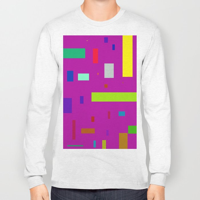 Squares and Rectangles 2 Long Sleeve T-shirt