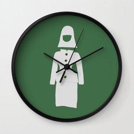 Fashion Designer Icons: Space Age Dress Wall Clock