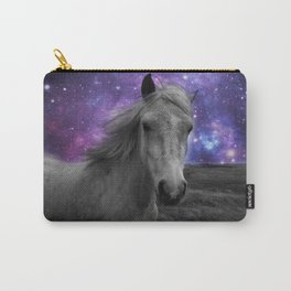 Horse Rides & Galaxy skies Carry-All Pouch