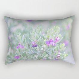 Sage in the desert Rectangular Pillow