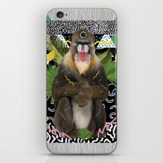 MANDRIL iPhone & iPod Skin