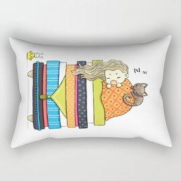 Plan for the Winter Rectangular Pillow
