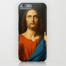 """Jean-Auguste-Dominique Ingres """"The Blessing Christ"""" iPhone Case"""