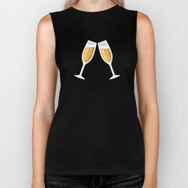 Champagne Cheers! Biker Tank