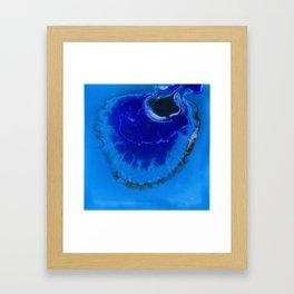 The Infinite Blue Framed Art Print