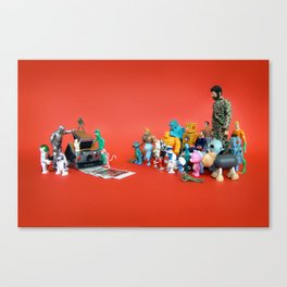 Toys on Roids Canvas Print