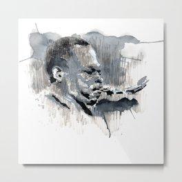 Jazz Trane 01 Metal Print