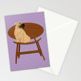 Designer Dog - Shar Pei Stationery Cards