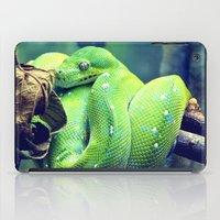 snake iPad Cases featuring Snake by Yoshigirl