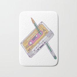 Cassette Tape Struggle Bath Mat