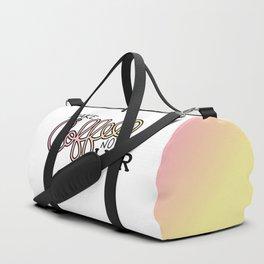 Coffee Not War (Sunset) Duffle Bag
