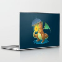 charizard Laptop & iPad Skins featuring Charizard by Jeanette Aga