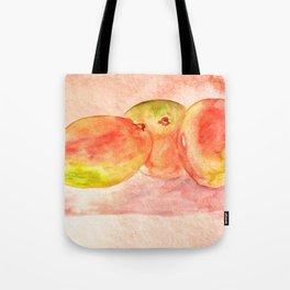 Mango Watercolor Tote Bag