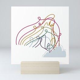 2020 Rainbow Mini Art Print
