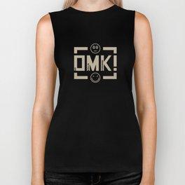 OMK! Ona Magulak Kraganing (Whatever) - Baige Biker Tank