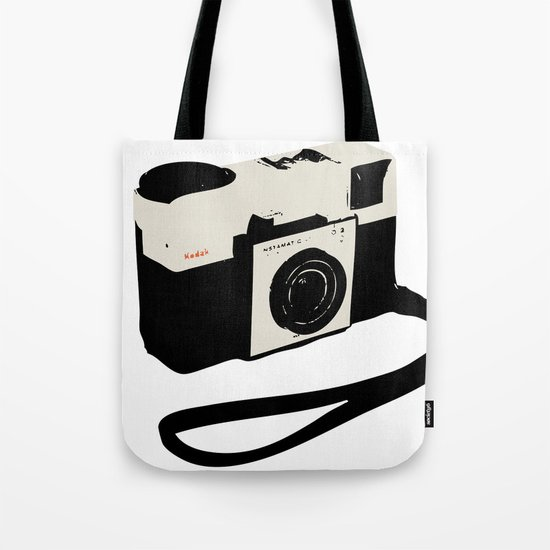 ivory kodak instamatic camera Tote Bag