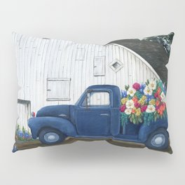 Flower Farm Truck Pillow Sham