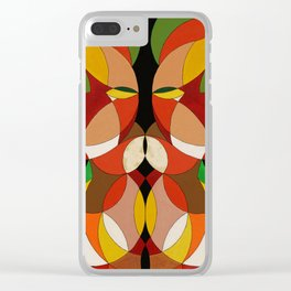 Rasta Lion of Judah / Lion of the Jungle Clear iPhone Case