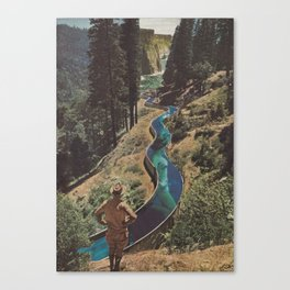 To the Sea Canvas Print