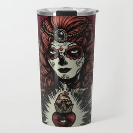 Sugar Skull Bride Travel Mug