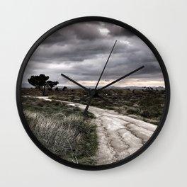 Potrero Creek Overcast Wall Clock