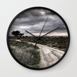 Potrero Creek Overcast Wall Clock