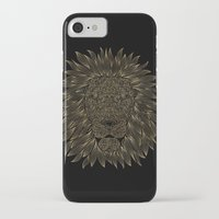 lannister iPhone & iPod Cases featuring lion / black by Anna Grunduls