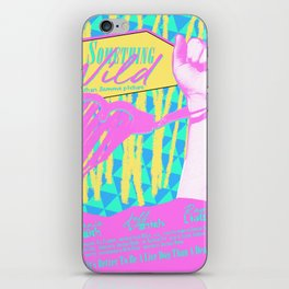 Something Wild iPhone Skin
