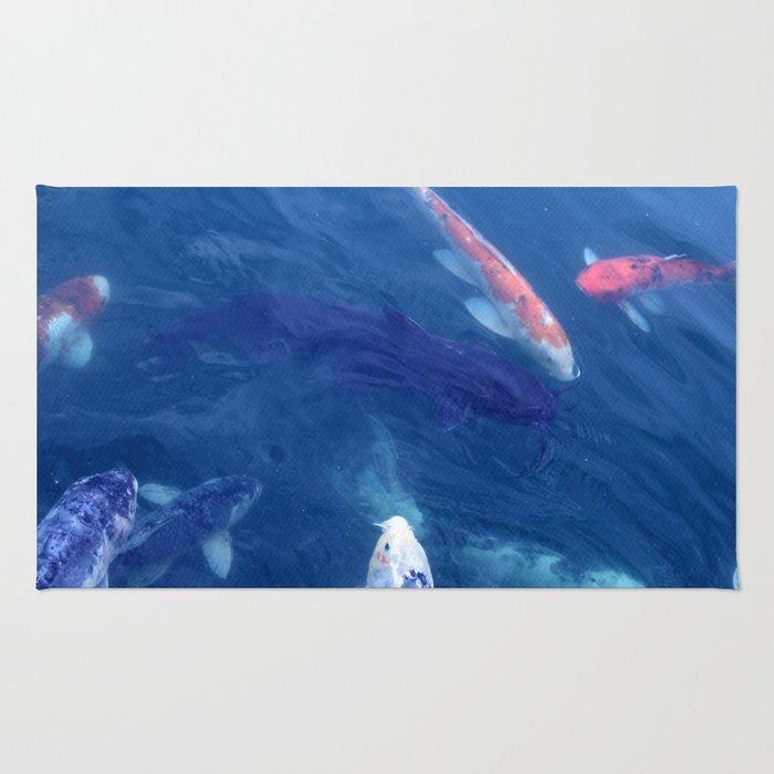 Catfish with Koi Rug