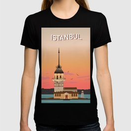 Istanbul Illustration T-shirt