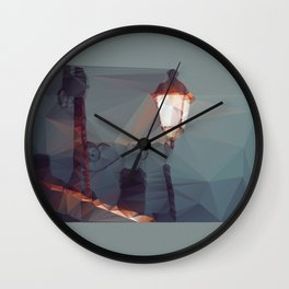 The light above the tile Wall Clock
