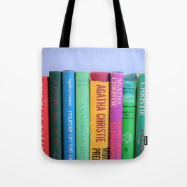 Row of Colorful Vintage Agatha's Tote Bag